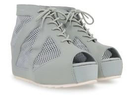 $150 PUMA x Hussein Chalayan HAKODA SUMMER Shoes PURITAN GREY Peep Toe 1... - $129.97