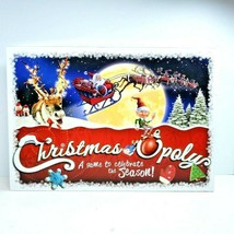 Christmas Opoly Board Game Christmas Theme by Lateforthesky Complete Ages 8+ - $15.99
