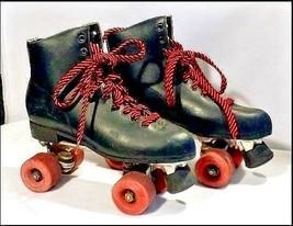 Roller Skates AB 828 Vintage Black image 1