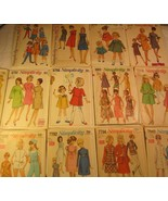 CHOICE 1960's Simplicity PATTERN Toddler CHILD Miss 1 3 4 5 8 10 12 BLOU... - $6.58