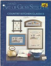 Country Kitchen Classics Cross Stitch Designs Sampler Picture  Motifs - $7.00