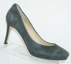 Ivanka Trump 'Sophia' gray suede almond toe slip on platform heels 8.5M 6753 - $33.30