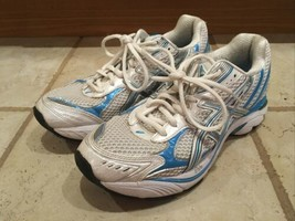 Asics GEL-Enhance Ultra Duomax Womens Shoes Sz 8 Silver Pink Purple T58A... - $14.99