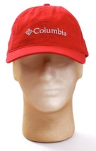 Columbia Signature Red Adjustable Baseball Cap Hat Adult One Size  NWT - $29.69