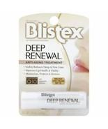BLISTEX Deep Renewal Lip Balm Anti-Aging Lips Vitamin Collagen Hyaluroni... - $7.99