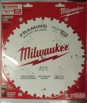 "Milwaukee 48-40-1038 10 1/4"" x 28 Framing Circular Cutting Saw Blade Laser Cut - $25.74"