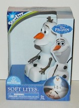 Walt Disney Frozen Movie Olaf Figure Soft Lite Soft Formed Glowing Toy NEW BOXED - $19.30