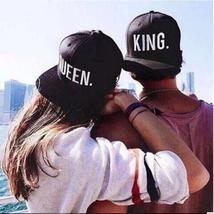 QUEEN KING Basdeball Cap Hats Hip Hop QUEEN Letter Caps Lovers Snapback Sun Hat