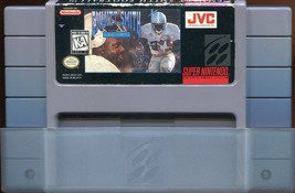 Emmitt Smith Football (Super Nintendo Entertainment System 1992) - $0.98
