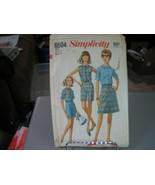 Simplicity 6504 Misses Blouse, Skirt & Shorts Pattern - Size 18 Bust 38 ... - $11.87