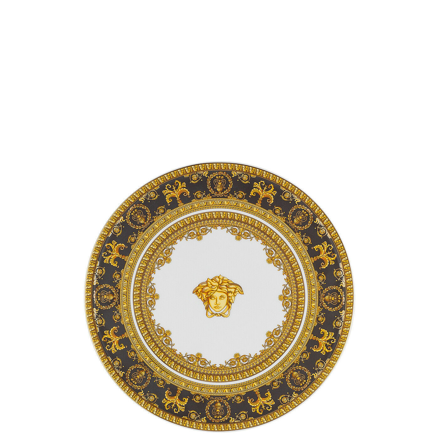 Primary image for Versace I Love Baroque Platter on foot small Porcelain Made in Italy
