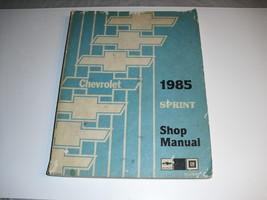 chevrolet  1985  sprint  shop  manual  st 370-85 - $1.25