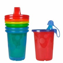 The First Years Take & Toss Spill-Proof Sippy Cups, 10 Ounce, 4 Count - $6.40