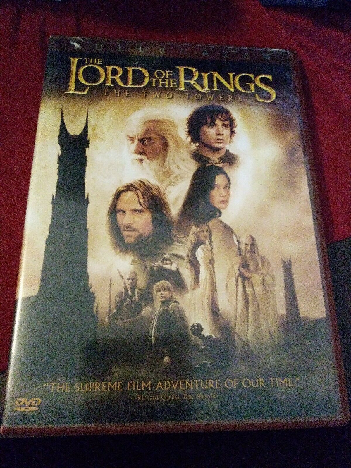 Primary image for The Lord of the Rings: The Two Towers (DVD, 2003, 2-Disc Set, C5 DISC ONLY