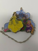 Belle Rapunzel Cinderella DLP PTD Pirates And Princesses LE500 Disney Pin - $24.74