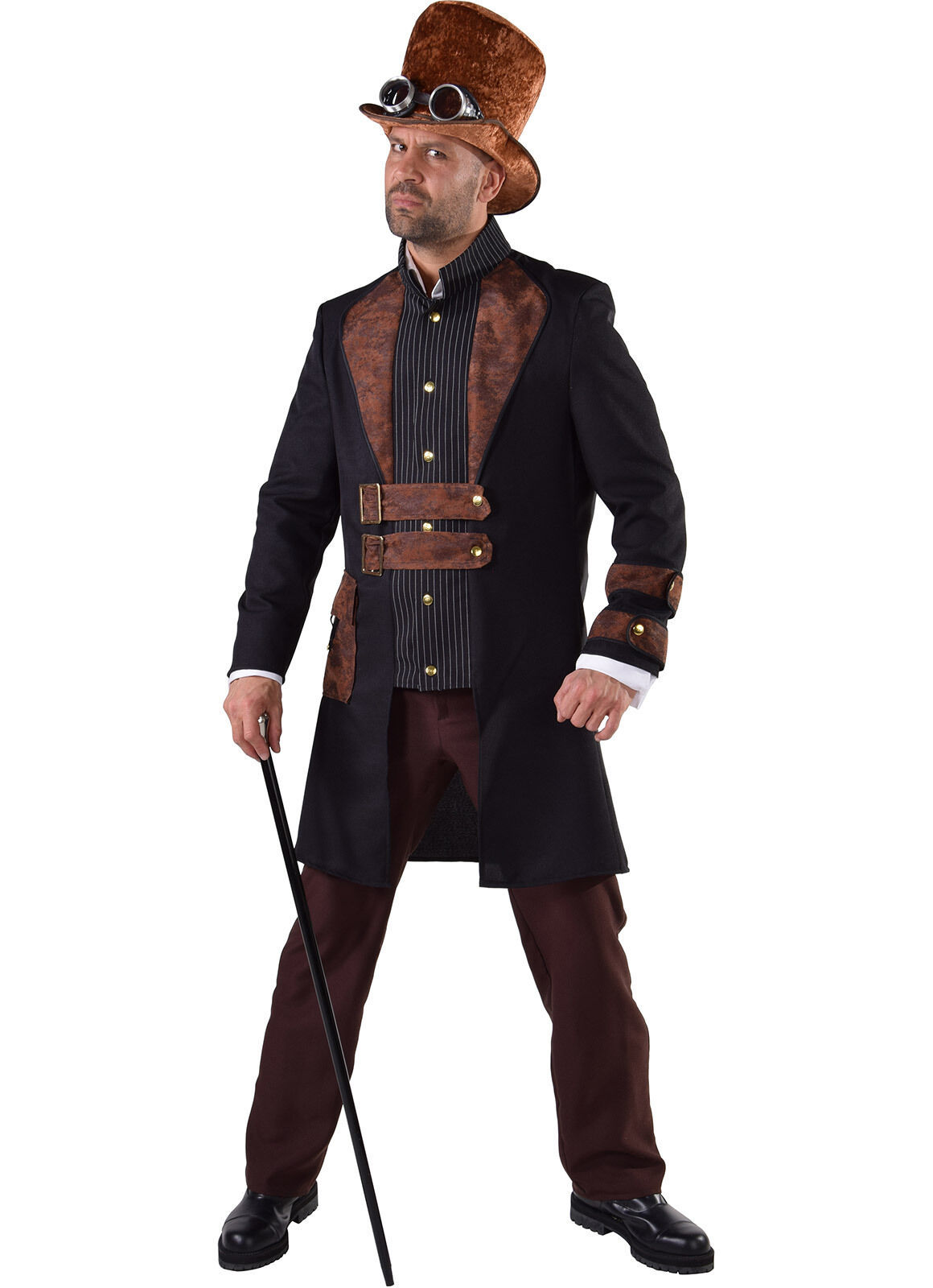 Victorian Frockcoat Suit - Steampunk Charlie