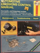 Haynes Automotive Emissions Control Manual # 1667 New Sealed - $19.95