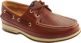 Sperry Top-Sider Gold Boat ASV Boat Shoes (Men's) in Cognac Brown Leather - $199.45