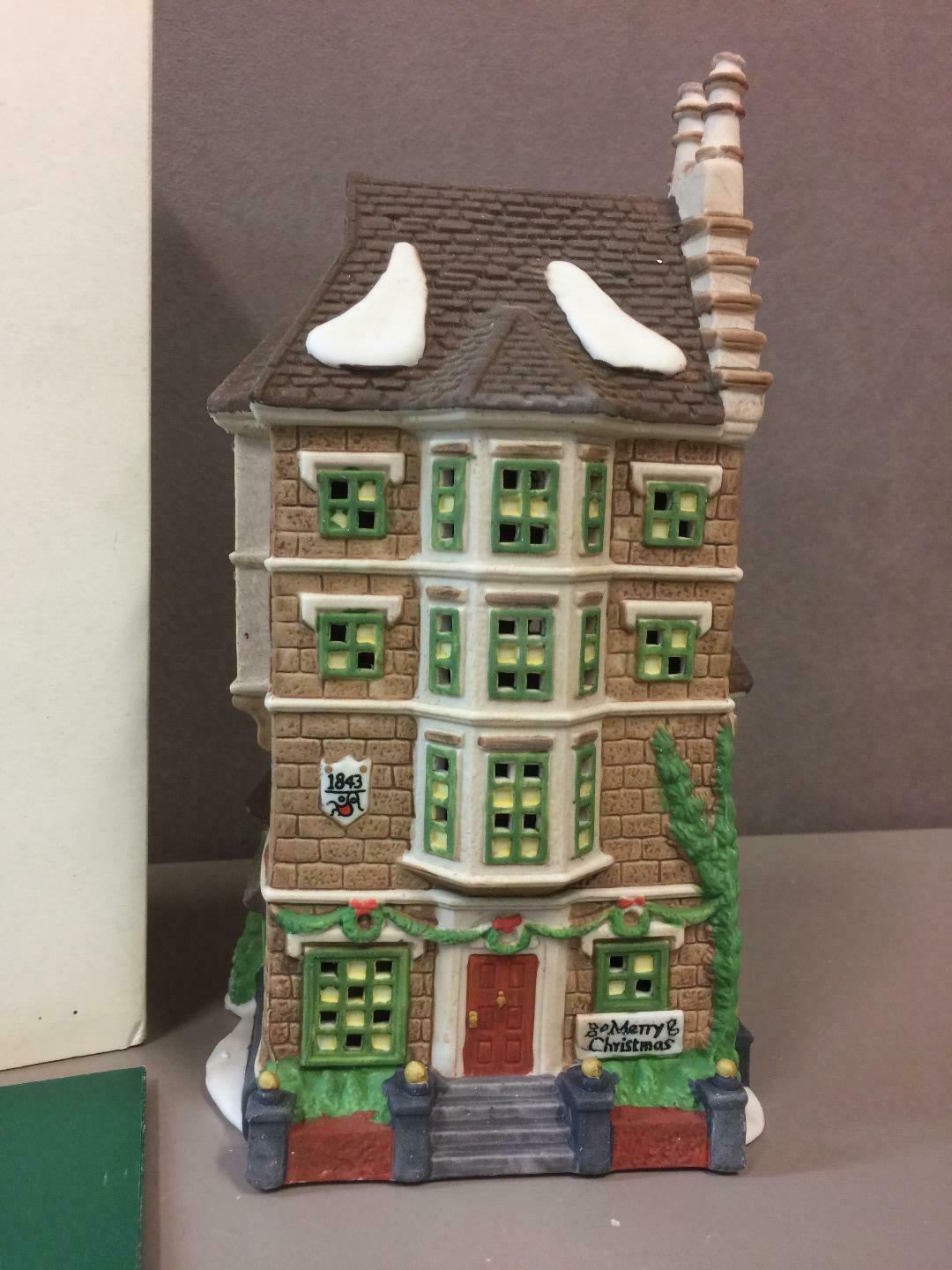 Primary image for DEPARTMENT 56 NEPHEW FRED'S FLAT #55573 Dickens HERITAGE Village Series