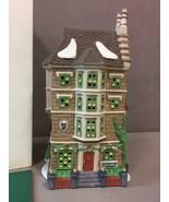 DEPARTMENT 56 NEPHEW FRED'S FLAT #55573 Dickens HERITAGE Village Series - $41.57
