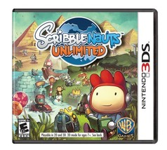 Scribblenauts Unlimited - Nintendo 3DS [video game] - $12.69