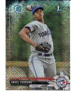 2017 BOWMAN CHROME MEGA BOX MOJO BCP20 ANGEL PERDOMO RC BLUE JAYS FREE SHIP - $1.89