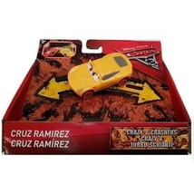 Disney Pixar Cars 3 1:55th Bumper Basher Vehicle Crazy 8 Crashers - Cruz... - $11.17