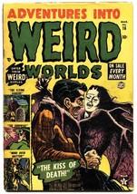 Adventures Into Weird Worlds #16 1953 horror comic book Atlas Vampires G... - $99.33