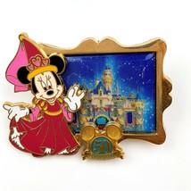 Disney Happiest Memories Earth Disneyland 50th Anniversary Princess Minnie Pin  - $29.69
