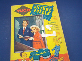 vintage Tuco series 400  reverence advanced children's picture puzzle su... - $12.17