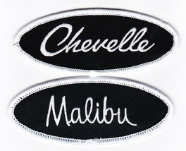 Chevrolet: Chevelle Malibu SEW/IRON On Patch Embroidered Jacket Shirt Hat Car - $8.50