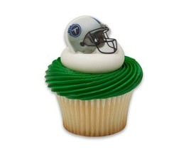 TENNESSE TITANS Football CUPCAKE Toppers 12PCS Birthday Favors Cake Deco... - $9.85