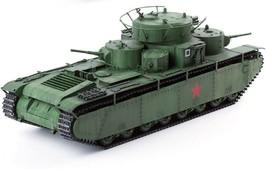 Academy 13517 1:35 Soviet Union T-35 Soviet Heavy Tank Plastic Hobby Model image 1