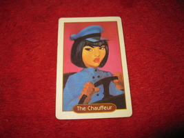 1993 - 13 Dead End Drive Board Game Piece: The Chauffeur Character Card - $1.00