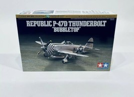 Tamiya 1/72 Republic P47D Thunderbolt Bubbletop TAM60770 - $42.50