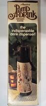 Pump A Drink Alladins Vacuum Bottle thermos no. P150 Vintage - $22.66