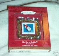 Primary image for Keepsake Ornament Hallmark The Cat in The Hat