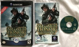 ☆ Medal of Honor Frontline (Nintendo GameCube 2004) Complete in Case Gam... - $7.92