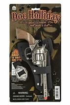DOC Holliday Toy Cap Gun Pistol Revolver Cowboy Western Holster/Belt New - $22.76