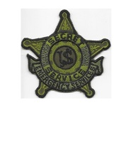 US Secret Service USSS Emergency Services & Response Agent Patch acu Vel hooks C - $12.99