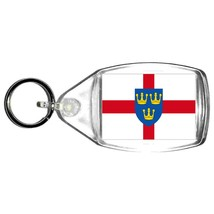 east anglia county keyring  handmade in uk from uk made parts, keyring, keyfob