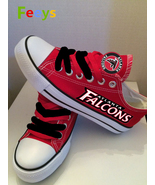 Atlanta Falcons shoes Falcons sneakers Fashion Christmas gift birthday g... - $55.00+