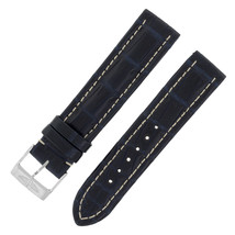 Breitling 18-18mm Genuine Alligator Leather Dark Blue Ladies Watch Band ... - $500.79 CAD