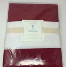 Pottery Barn Kids Rugby Stripe Duvet Cover Red / White NEW - $49.19