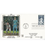 1983 ALL STAR GAME COMISKY PARK CHICAGO ILL JULY 6 1983 Z SILK #D606 - $2.98