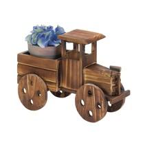Planter Indoor, Antique Truck Garden Decorative Rustic Standing Planter ... - $26.99