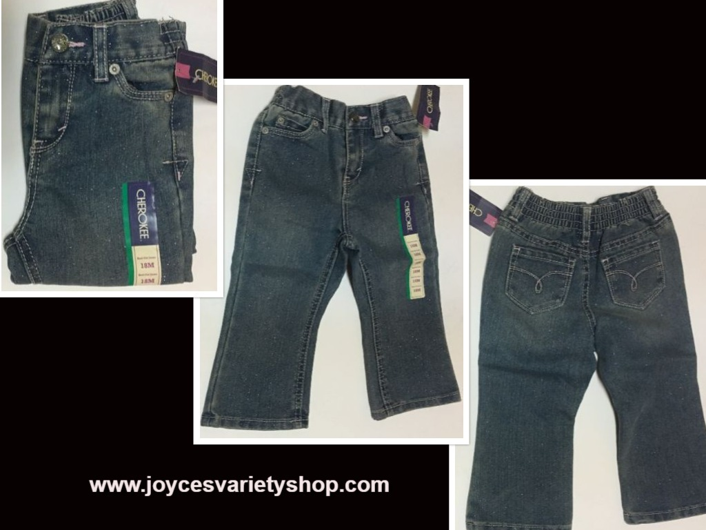 Cherokee infant jeans 18 mos web collage