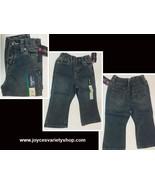 Cherokee Infant Boot Cut Jeans Sz 18 Mo. Sparkles NWT - $6.99