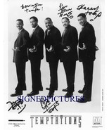 THE TEMPTATIONS GROUP BAND SIGNED AUTOGRAPH 8X10 RP PHOTO SINGERS PERFORMERS - $16.99