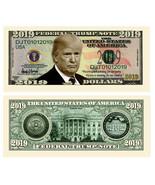 Donald Trump Presidential Novelty Money 2019 Bill Pack of 100 - $14.95